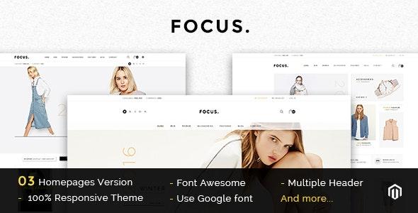 Focus - Multipurpose Responsive Magento Theme  - Magento eCommerce