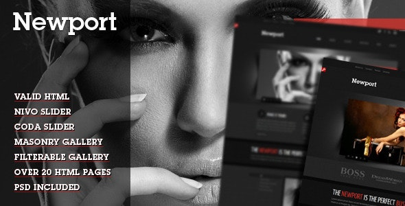 Newport - Modern HTML Template - Creative Site Templates