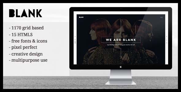 Blank - Creative Agency & Portfolio Templates HTML5 by erathemes