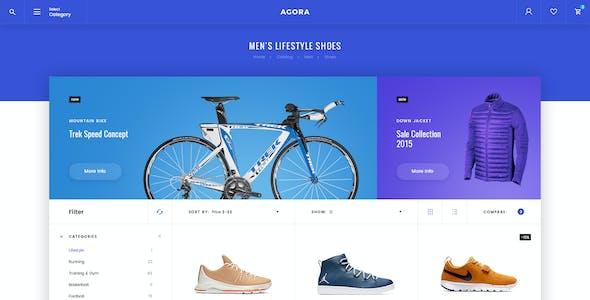 Agora – eCommerce PSD Template