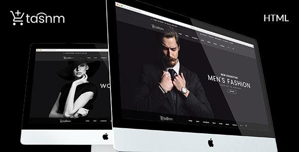 Fashion Store HTML Template - Tasnm - Fashion Retail