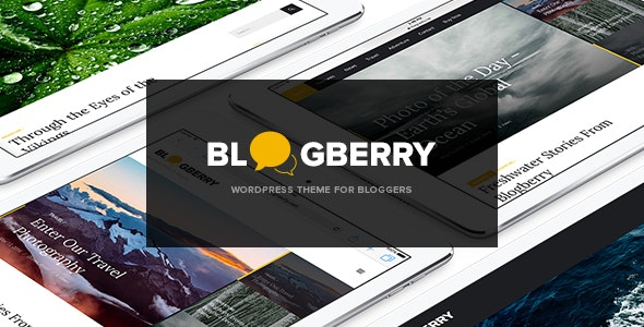 Blogberry WordPress Theme - Blog / Magazine WordPress