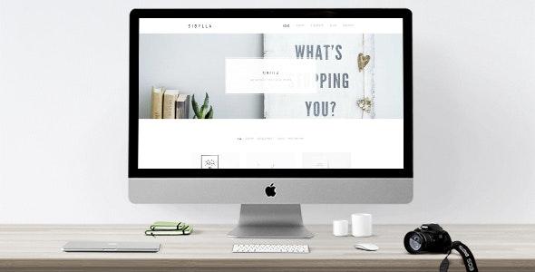 Sibylla - WordPress Portfolio Theme - Portfolio Creative
