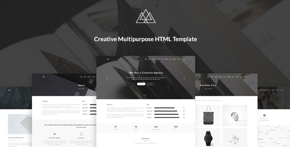 Atlantida - Creative Multipurpose PSD Template - Creative PSD Templates