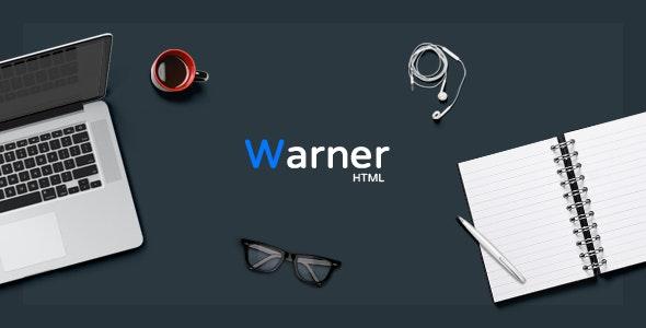 Warner - Multi-purpose Bootstrap Template - Business Corporate