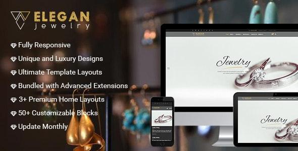 Elegance - Magento Responsive Jewelry Theme - Magento eCommerce