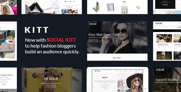 Kitt | Theme For Fashion Blogs - Personal Blog / Magazine