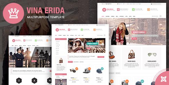Vina Erida - Multipurpose Joomla 3.x Template - Shopping Retail