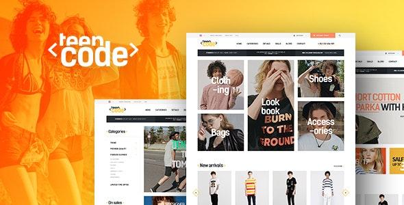 TeenCode - Woocommerce Fashion WordPress Theme - WooCommerce eCommerce
