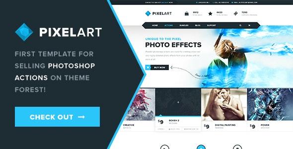 PixelArt PSD Template - Business Corporate