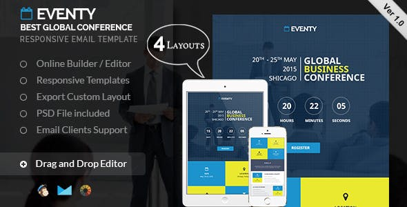 Eventy - Event Email Template