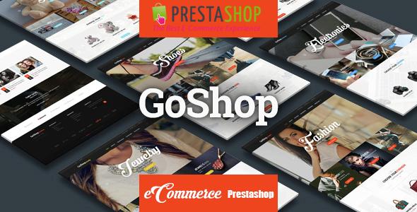 GoShop - Multi Purpose eCommerce Responsive PrestaShop Theme - PrestaShop eCommerce