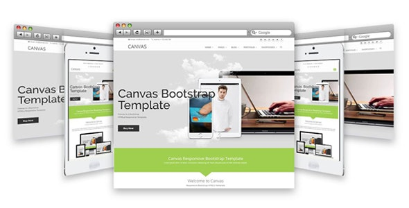 The Canvas Responsive HTML5 Template - Corporate Site Templates