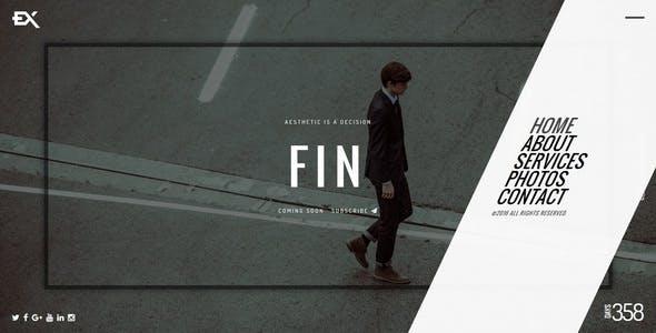 Fin || Responsive Under Construction Template