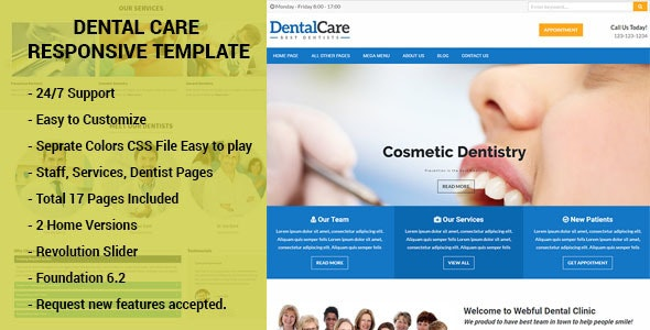 Denterio - Dentist & Medical HTML Template - Health & Beauty Retail