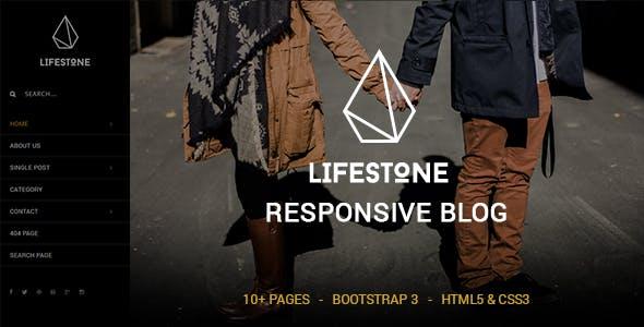 Lifestone - A Responsive Blog Template