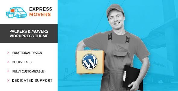 Movers Express - Công ty Chuyển WordPress Theme