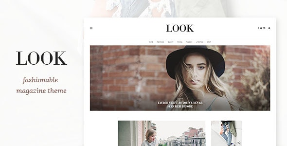 Look - Magazine PSD Template - Personal Photoshop