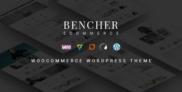 Bencher - Responsive WooCommerce WordPress Theme - WooCommerce eCommerce