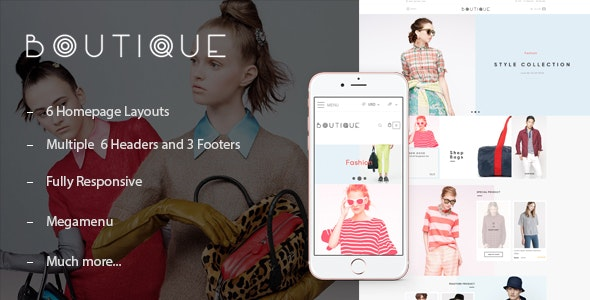 ST Boutique Shopify Theme - Fashion Shopify