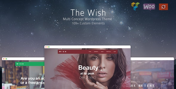 Wish - Responsive Multi-Purpose WordPress Theme - Business Corporate