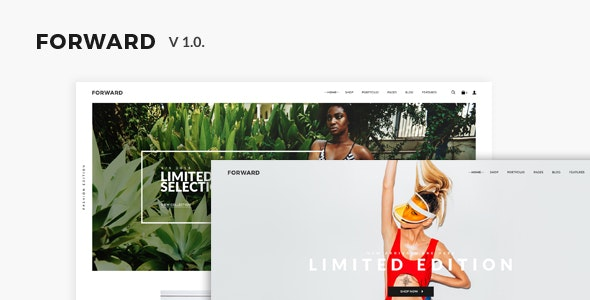 FORWARD - eCommerce PSD Template - Retail PSD Templates