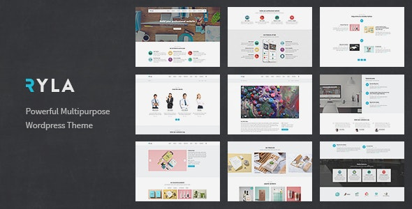 Ryla - Multipurpose Single/Multi Page WordPress Theme - Business Corporate