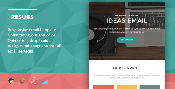 Resubs - Responsive Email + StampReady Builder - Newsletters Email Templates