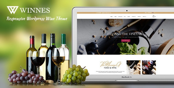Winnes -  Responsive Wine and Restaurant WooCommerce Theme - WooCommerce eCommerce