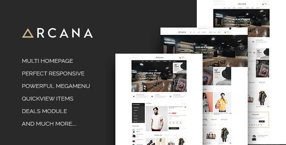 ST Arcana - Responsive Shopify Theme - Fashion Shopify