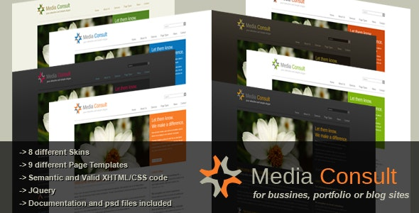 Media Consult - Business, Portfolio and Blog theme - Business Corporate