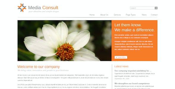 Media Consult - Business, Portfolio and Blog theme