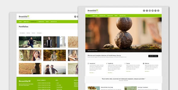 Beautiful - Spa and Beauty WordPress Theme - Health & Beauty Retail