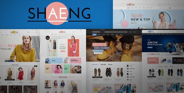 Shaeng - Multipurpose Responsive Prestashop Theme  - Shopping PrestaShop