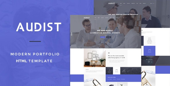 Audist - Modern Portfolio HTML5 Template - Business Corporate