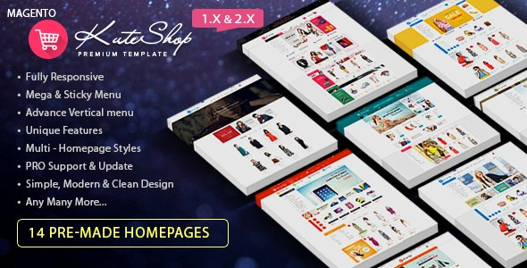 KuteShop Responsive Magento 2 Theme | RTL supported - Magento eCommerce