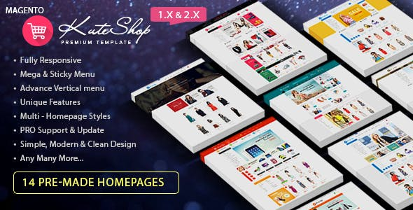 KuteShop Responsive Magento 2 Theme | RTL supported