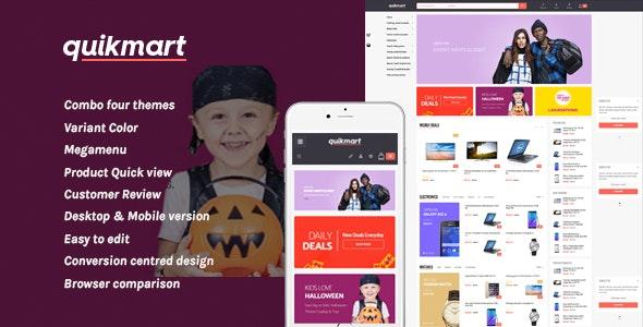 Leo Quickmart Responsive Prestashop Theme - PrestaShop eCommerce