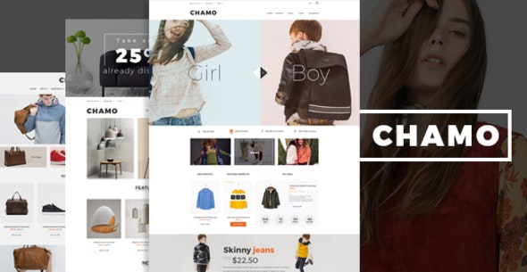 Chamo - Accessories Responsive Prestashop Theme - Fashion PrestaShop