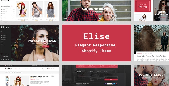 Elise - A Genuinely Multi-Concept Shopify Theme - Shopify eCommerce