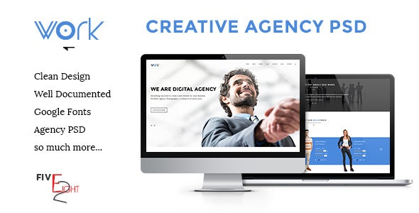 Work - Creative Agency Template - Business Corporate