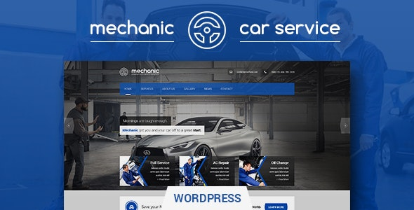 Mechanic - Car Service & Workshop WordPress Theme - Business Corporate