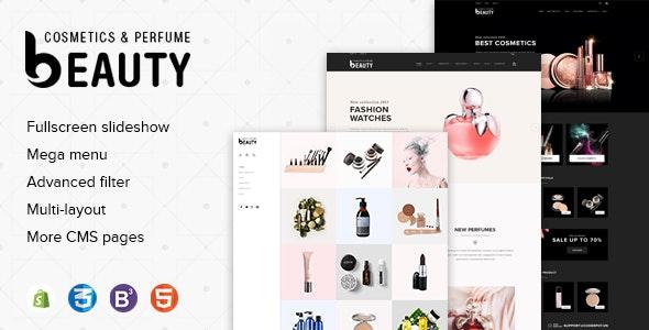 Fragrances Perfumes & Cosmetics Store Premium Shopify Theme - Health & Beauty Shopify