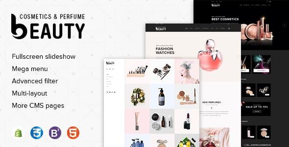 Fragrances Perfumes & Cosmetics Store Premium Shopify Theme