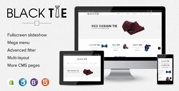 eCommerce Shopify Theme Men's Fashion Ties - Fashion Shopify