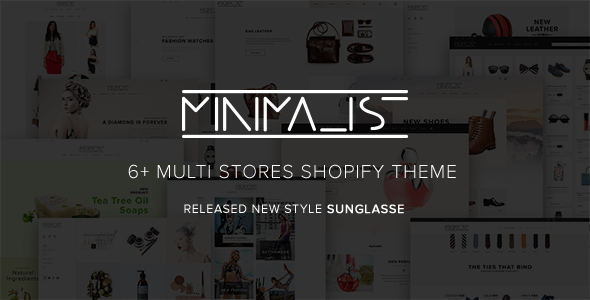 Minimal Premium Responsive Shopify Theme Best For Fashion Clothes Shoes Helmets Apparel T-Shirts - Shopping Shopify
