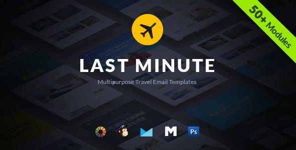Last Minute Multipurpose Hotel/Travel E-Newsletter + Builder Access