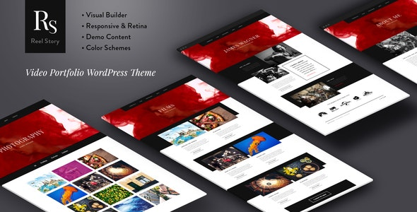 Reel Story - Video Portfolio WordPress Theme - Portfolio Creative