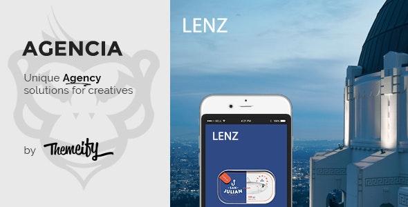 Lenz - Creative Photography Template - Portfolio Creative