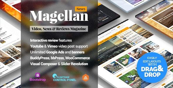 Magellan - Video News & Reviews Magazine by Planetshine